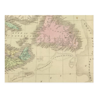 Newfoundland, Nova Scotia, and New Brunswick Postcard