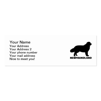 Newfoundland Pack Of Skinny Business Cards