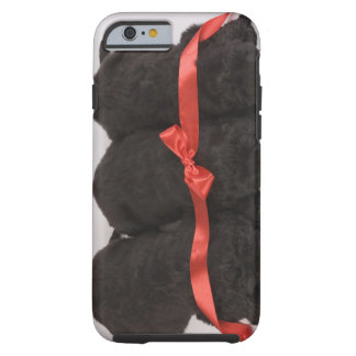 Newfoundland Puppies sleeping (Canis Tough iPhone 6 Case
