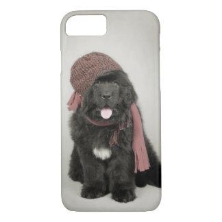 Newfoundland puppy iPhone 8/7 case