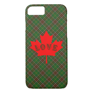 Newfoundland tartan plaid phone case love Canada