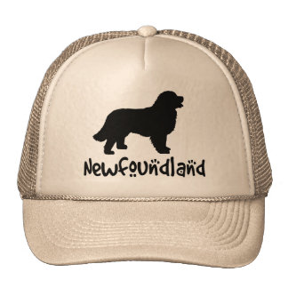 Newfoundland With Cool Text Cap