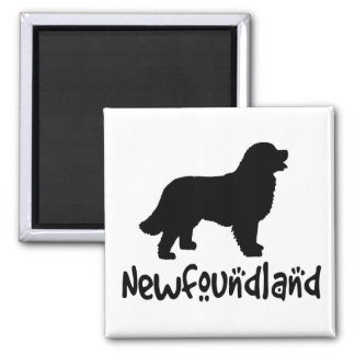 Newfoundland With Cool Text Magnet