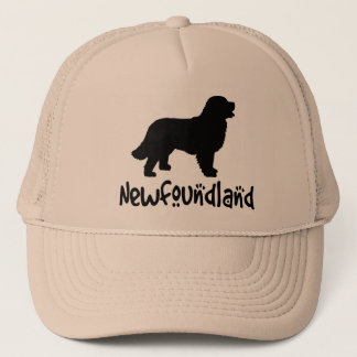 Newfoundland With Cool Text Trucker Hat