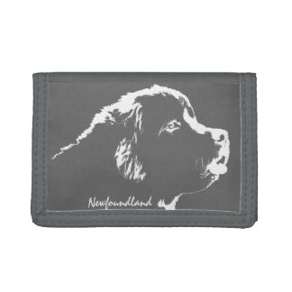 Newfoundlander Dog Wallet Newfoundland Pup Wallets