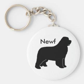 Newfy newf key ring