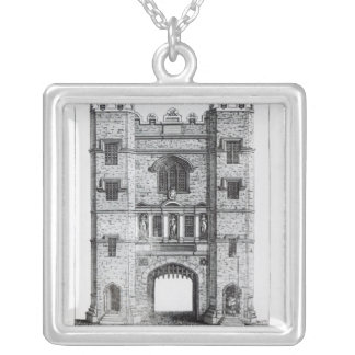 Newgate, London, pub. 1761 Silver Plated Necklace