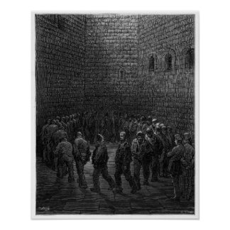 Newgate Prison Exercise Yard Posters
