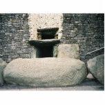 Newgrange Ireland, Ancient Spiral Symbols Photo Cut Outs