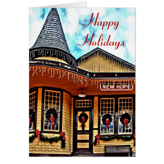 NewHope Station Holiday Card