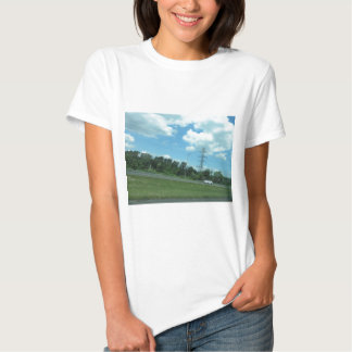 NEWJERSEY USA LANDSCAPE SKY GIFTS CHERRYHILL TSHIRT