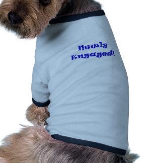 Newly Engaged Dog T-shirt
