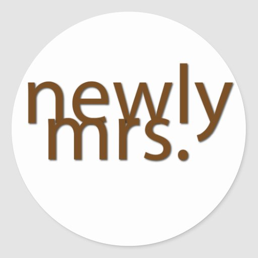 newly mrs.-brown stickers