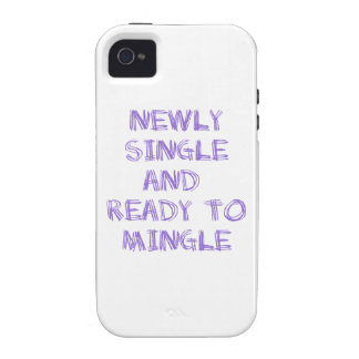 Newly Single and Ready to Mingle - 1 - Violet Case For The iPhone 4