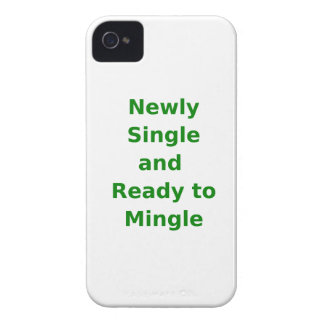 Newly Single and Ready to Mingle - 2 - Green iPhone 4 Covers