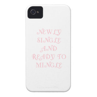 Newly Single and Ready to Mingle - 3 - Pink iPhone 4 Cover