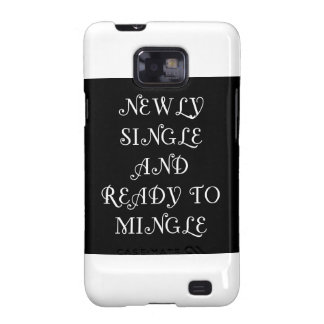 Newly Single and Ready to Mingle - 3 - White Galaxy SII Case