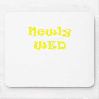 Newly Wed Mouse Pad