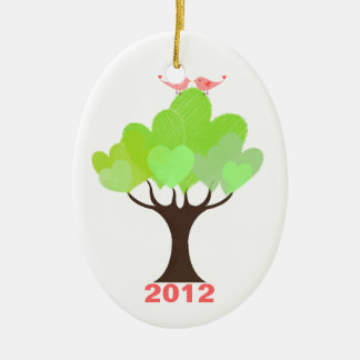 Newly Wed s Love Birds First Christmas Ornament