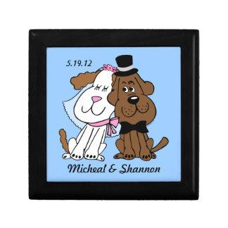 Newlywed Dogs Personalized Gift Box