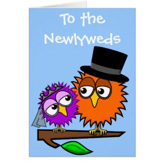 Newlywed Tweets Card