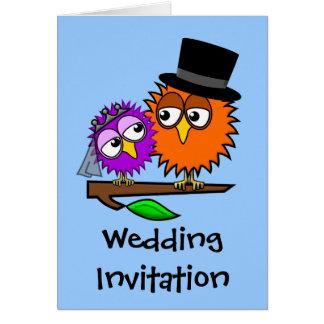 Newlywed Tweets Evening Wedding Invitation