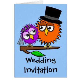 Newlywed Tweets Wedding Invitation
