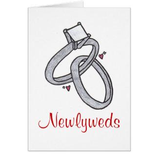 Newlyweds Greeting Card
