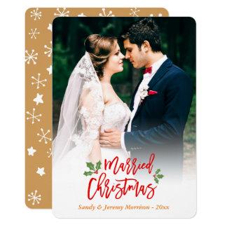 Newlywed Christmas Cards & Invitations | Zazzle.co.uk