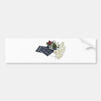 NewlywedsTraveling101610 Bumper Stickers