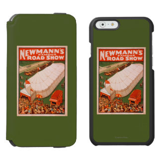 Newmann's Famous Magic Road Tent Show Poster Incipio Watson™ iPhone 6 Wallet Case