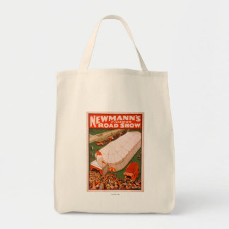 Newmann's Famous Magic Road Tent Show Poster Tote Bag