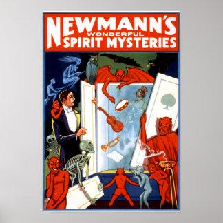 Newmann's Spirit Mysteries Poster