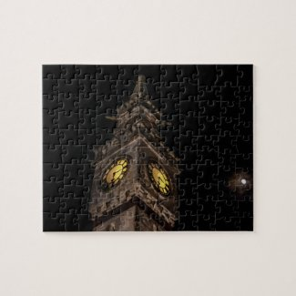 Newnham On Severn Tower Clock Jigsaw Puzzle