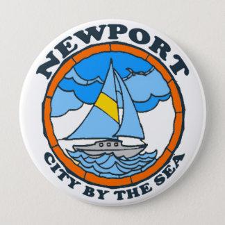 Newport. 10 Cm Round Badge