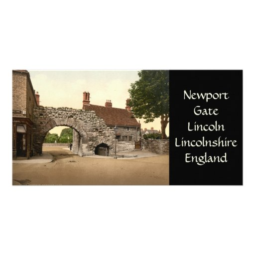 Newport Arch, Lincoln City, Lincolnshire, England Picture Card