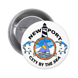 Newport. 6 Cm Round Badge