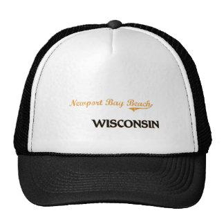Newport Bay Beach Wisconsin Classic Mesh Hats