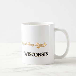 Newport Bay Beach Wisconsin Classic Mug