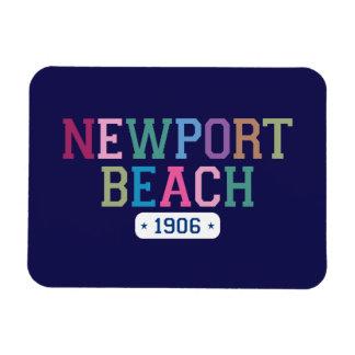 Newport Beach 1906 Rectangular Photo Magnet