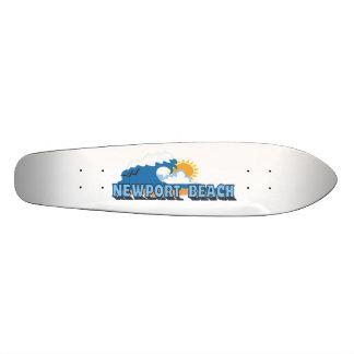 Newport Beach. 20 Cm Skateboard Deck