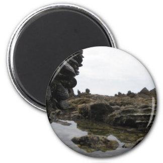 Newport Beach 6 Cm Round Magnet