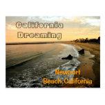 Newport Beach at Corona del Mar Postcard