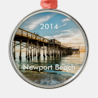 Newport Beach Balboa Pier Christmas Ornament