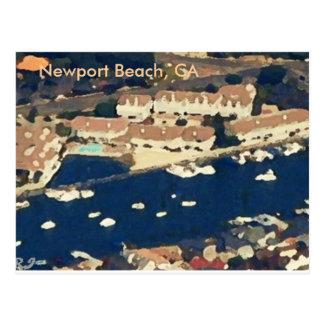 Newport Beach, CA Post Card