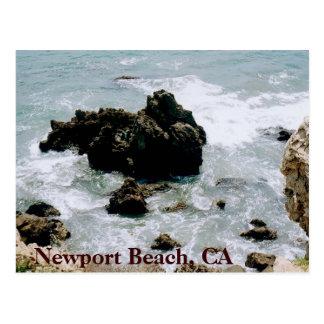 Newport Beach California Gold Coast Postcard Photo