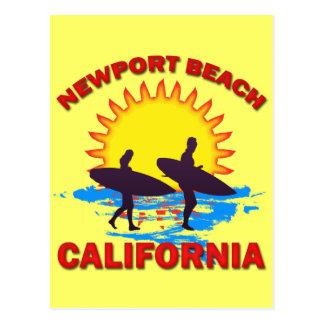 NEWPORT BEACH CALIFORNIA POSTCARD