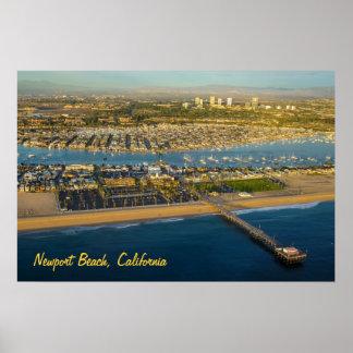 Newport Beach California Poster
