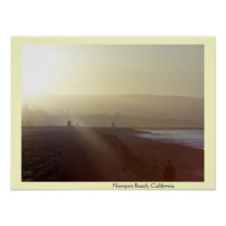 Newport Beach, California Sunrise Print
