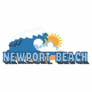 Newport Beach. Photo Cut Outs